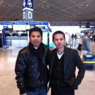 Berpose bersama Akhmad Munir