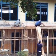Bangunan Madrasah lama direnovasi